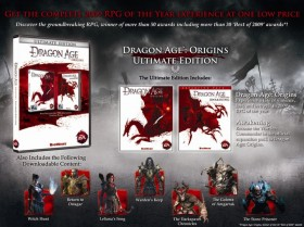 Dragon Age Origins: Ultimate Edition available NOW