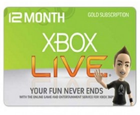 NYCC Raffle! 12-month XBOX Live Subscription! [Finished]